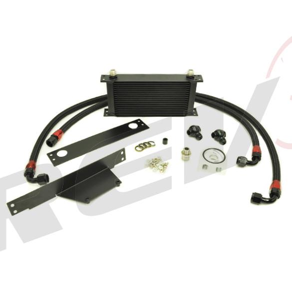 Subaru WRX STI EJ20 EJ25 02-05 19 Row Bolt-On Oil Cooler Kit
