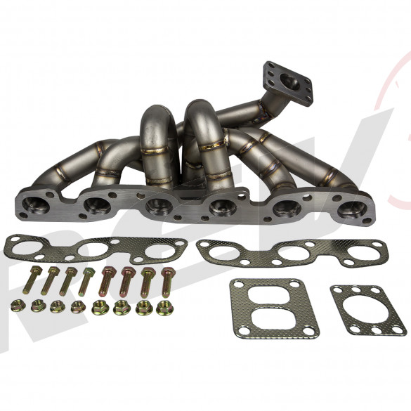 HP-Series Nissan RB26 Equal Length T4 Top Mount Turbo Manifold