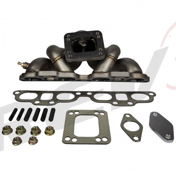 HP-Series Nissan 240SX SR20 Equal Length Top Mount T3/T4 Turbo Manifold