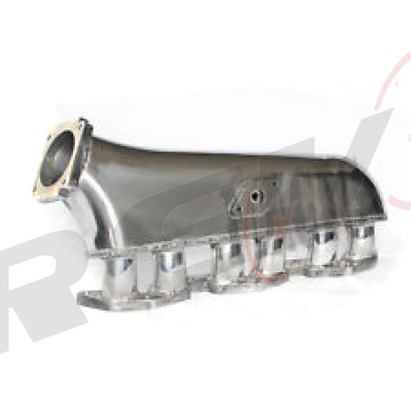 Toyota Supra 1JZGTE Intake Manifold, Aluminum Casting, Raw Aluminum