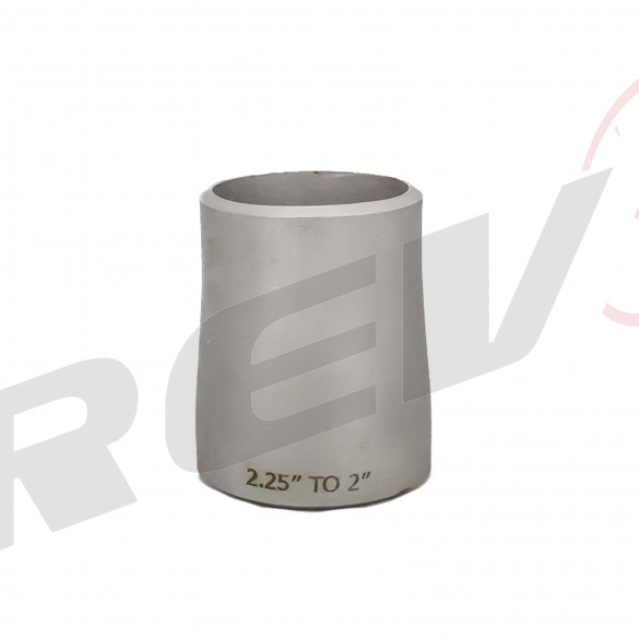 """Stainless Steel Concentric Reducer - 2.25"""" to 2.00"""""""