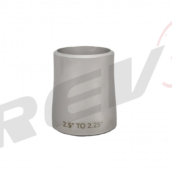 "Stainless Steel Concentric Reducer - 2.50"" to 2.25"""