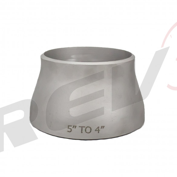 """Stainless Steel Concentric Reducer - 5.00"""" to 4.00"""""""