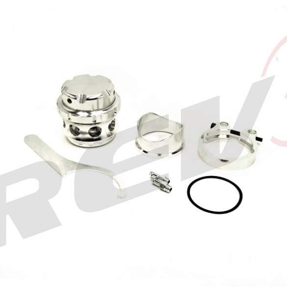 RS-Series 50mm V-Band Blow Off Valve BOV (Silver)
