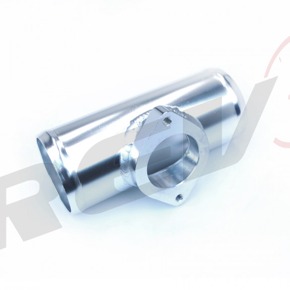 Aluminum Type-RS BOV Adapter Tube, 2.5 in.