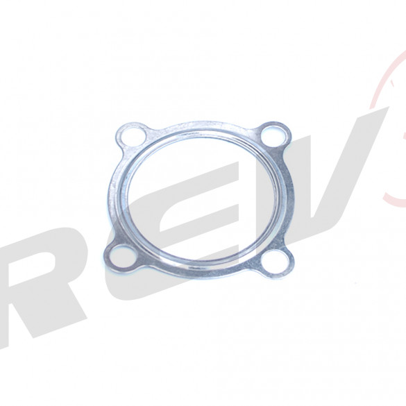 4 Bolt Turbo Downpipe Gasket (Metal Gasket) - 3 inch
