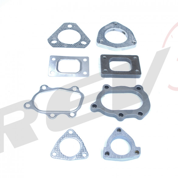 T25 Flange and Gasket Variation Set