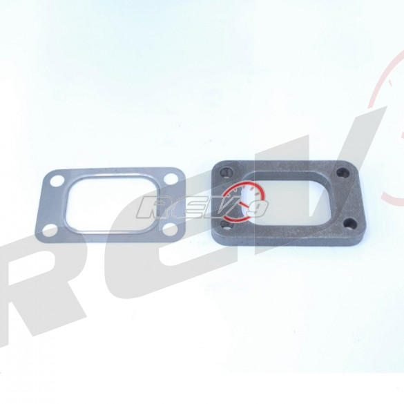 T3 Turbo Flange and Gasket (Steel)
