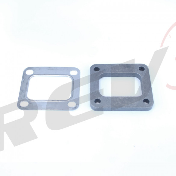 T4/T04D Turbo Inlet Flange With Gasket
