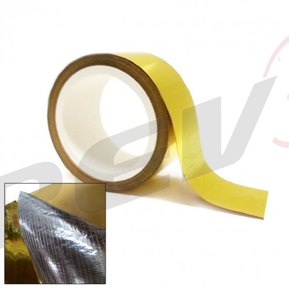 Gold Heat Reflector Barrier Tape Roll, 2 in. x 15 ft.