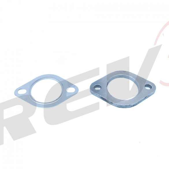 2-Bolt 2.5 in. Exhaust / Downpipe Flange (Stretch Bolt Pattern)