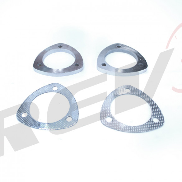 Exhaust Flange, Mild Steel, 3.5 inch Collector Diameter