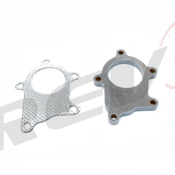 5-Bolt Standard T3T4 Exhaust / Downpipe Flange + Gasket