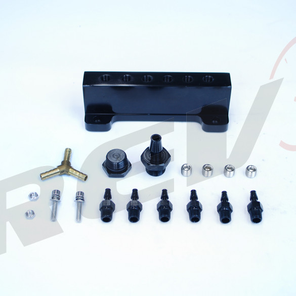 Vacuum Manifold (Vacuum Distributor), Black