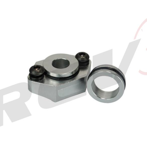 AUDI / VW 1.8T Aluminum Map Sensor Flange kit (with o rings seal)