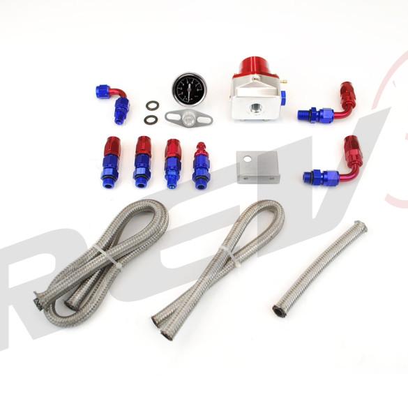 Fuel Pressure Regulator, RS-Series with Gauge