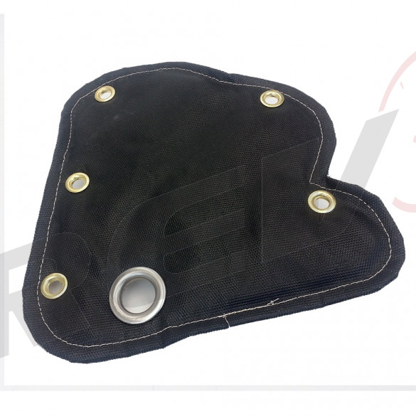 Dodge Dart / Fiat Abarth / 500 500T 500L Turbo Turbine Blanket Heat Shield, Fiberglass