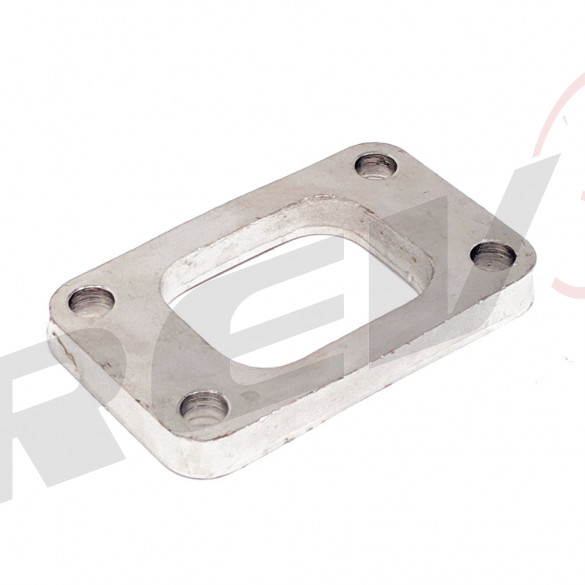T3 Flange None Threaded Plated Mild Steel