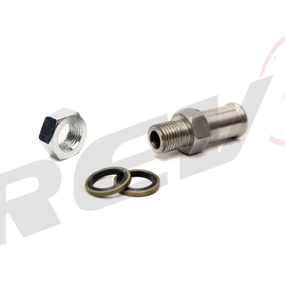"Turbo Oil Pan Drain 5/8"" Tube Bung Adaptor (Bolt-on)"
