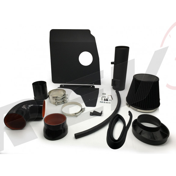"Chevrolet Camaro 10-11 V6 3.6L LT / LS 3.5"" Intake Kit (Wrinkle Black)"