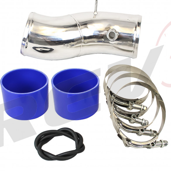"Ford Super Duty 99-03 7.3L GTP38 PowerStroke Diesel 4"" Turbo Intake Pipe Upgrade Kit"