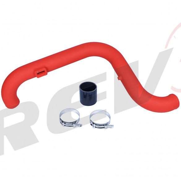 Hi-Flow Intake Pipe for Volkswagen EOS 2.0t Turbo FSI (Wrinkle Red)