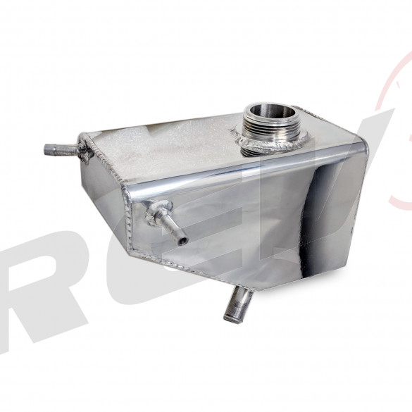 Aluminum Coolant Expansion Overflow Tank - Ford Mustang 11-14 All Models