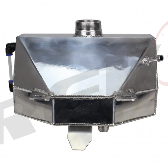Aluminum Coolant Expansion Overflow Tank - Ford Mustang 2015+ Up All Models