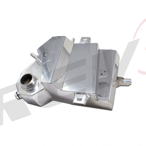 Aluminum Coolant Expansion Overflow Tank - Ford 6.0L Powerstroke 2003-07 F250 / F350