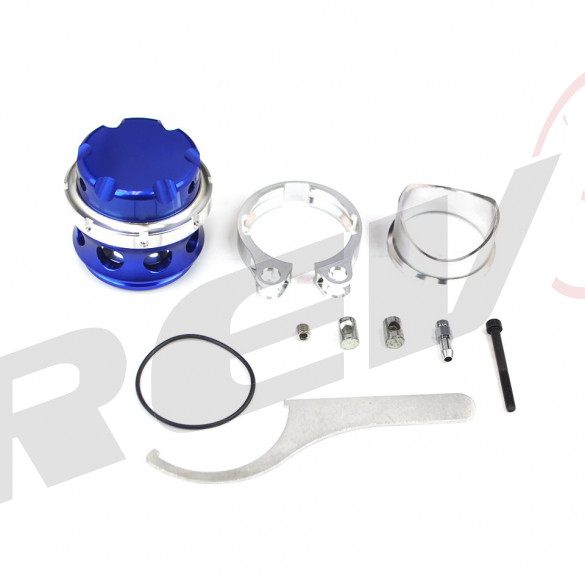 RS-Series 50mm V Band Blow Off Valve BOV (Blue)