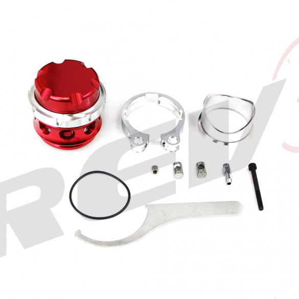 RS-Series 50mm V-Band Blow Off Valve BOV (Red)
