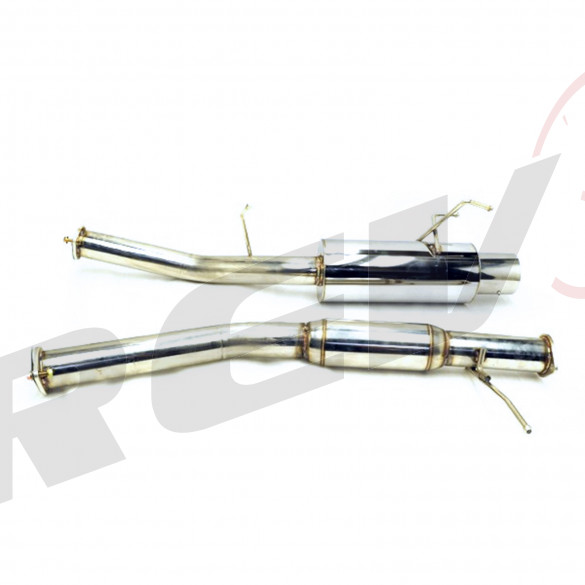 Nissan 240SX S14 95-98 SR20 Stainless Steel Cat-Back Exhaust