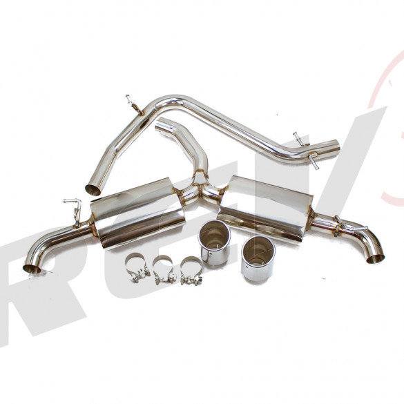 Volkswagen Golf GTI MK6 09-14 2.0T TFSI Turbo Stainless Steel Cat-Back Exhaust System