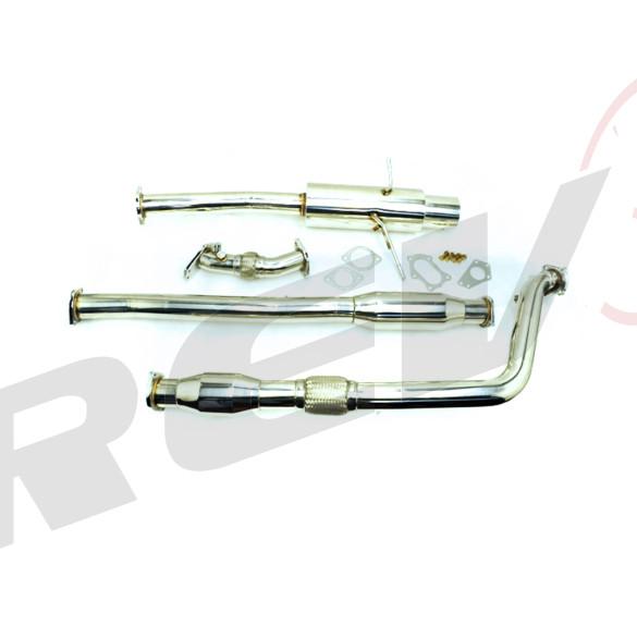 Subaru WRX STI 02-07 EJ20 EJ25 Stainless Steel Up-pipe / Downpipe / Catback Exhaust