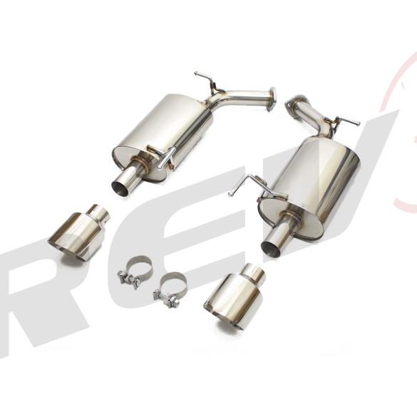 Infiniti Q70 (Y51) 2014-19 FlowMAXX Stainless Steel Performance Axle-Back Exhaust Kit
