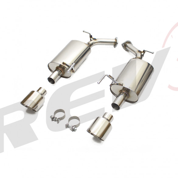 Infiniti M37 / M56 (Y51) 2011-13 FlowMAXX Stainless Steel Performance Axle-Back Exhaust Kit