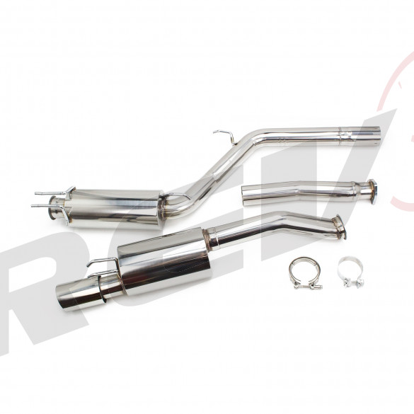 "Honda Civic Si (FA/FG) 2006-11 3"" FlowMaxx Race Version Stainless Catback Exhaust Kit (2dr/4dr)"