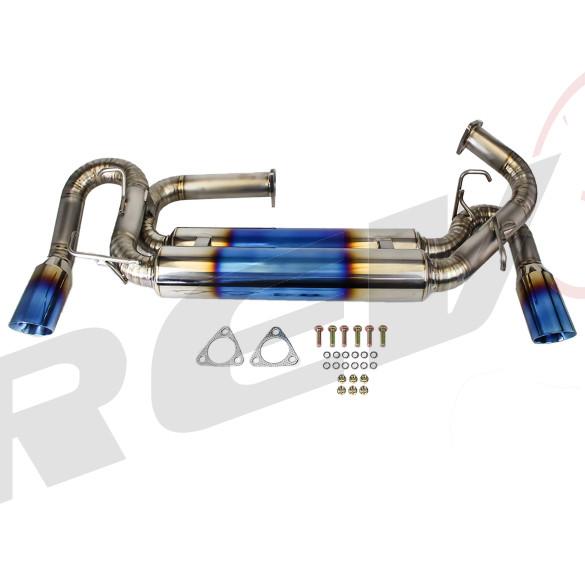 Cat-Back Exhaust, Titanium,89mm Tip, Acura NSX 1991-96