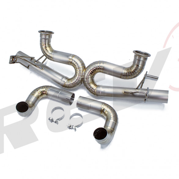"Titanium Cat-Back Exhaust Track Edition , 3"" Inch, Audi R8 5.2 V10 2008-15"