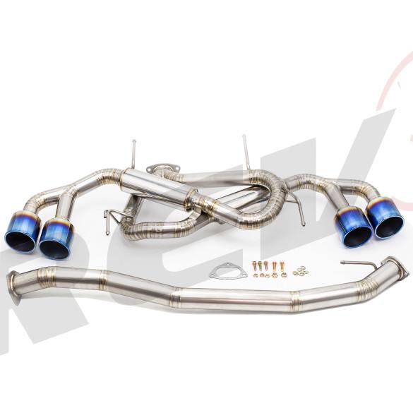 Cat-Back Exhaust, Titanium, 3 Inch, Nissan GT-R 2009-17 (R35)