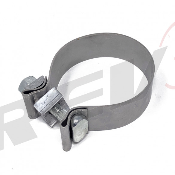 "Stainless Steel Exhaust Clamp - 2.75"" DIA."