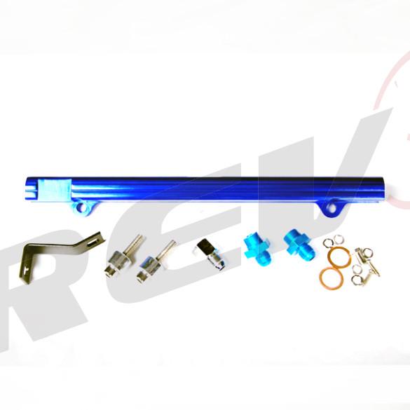 High Flow Fuel Rail Kit for Mitsubishi Lancer Evolution 4G63 Motor