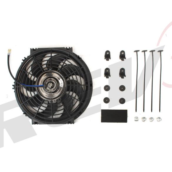 Universal Electric Radiator Slim Fan - 10 in.