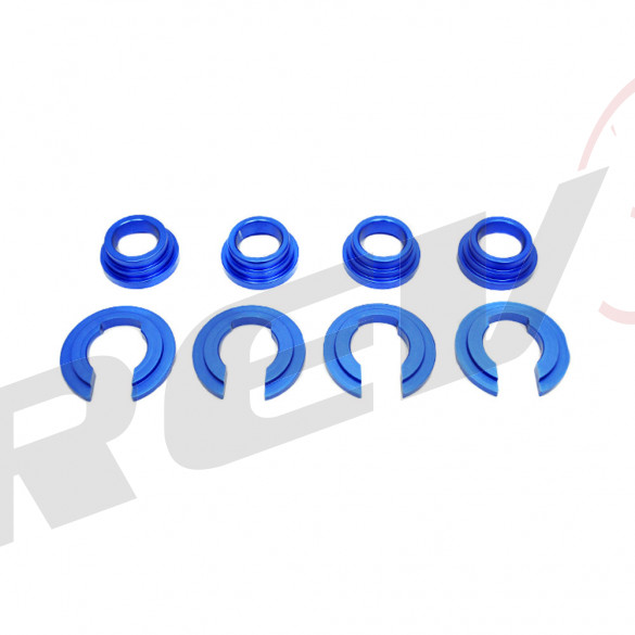 Billet Aluminum Subframe Collar for Nissan 240SX 1989-98 S13 / S14 (Blue)