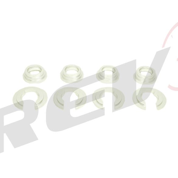 Billet Aluminum Subframe Collar for Nissan 240SX 1989-98 S13 / S14 (Silver)