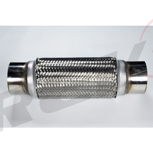 Stainless Steel Flex Pipe Exhaust Couplings with Mild Steel Extensions, 3.5x10x14 inch