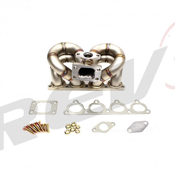 HP-Series Honda Civic D15 D16 Ram Horn Equal Length T3 Turbo Manifold