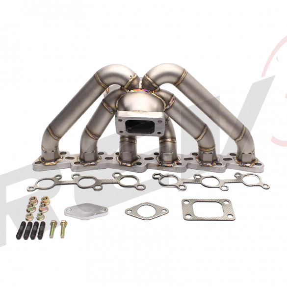 HP-Series Nissan RB20 RB25 Equal Length T3 Top Mount Turbo Manifold