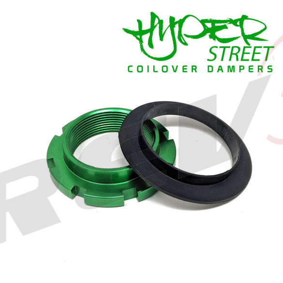 Hyper-Street II Coilover Spring Seat Ring And Thrust Washer