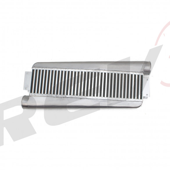 Universal Type-Z Intercooler, Aluminum Bar And Plate Design
